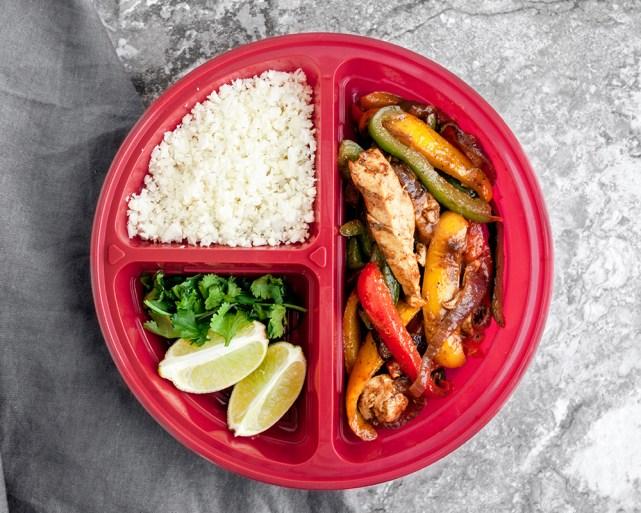 Chicken Fajita Veggie Meal