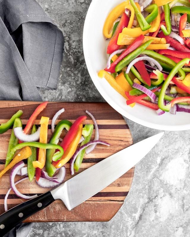 Chicken Fajita Veggie Meal Prep