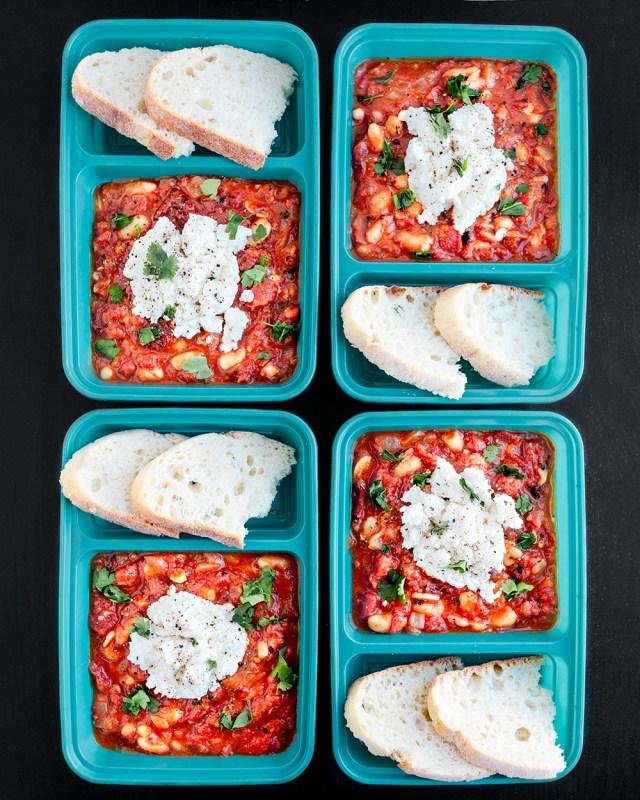 Vegan Shakshuka Meal Prep