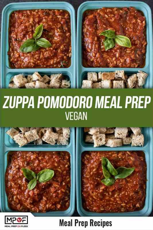 Zuppa Pomodoro Meal Prep