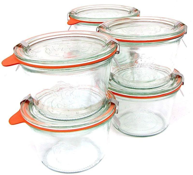 weck glass jars