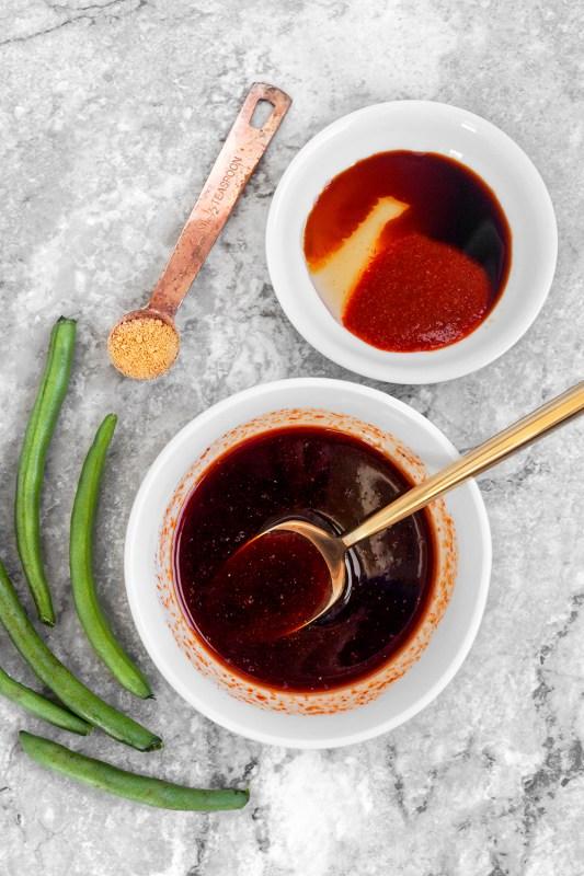 Sheet Pan Sriracha Salmon Sauce