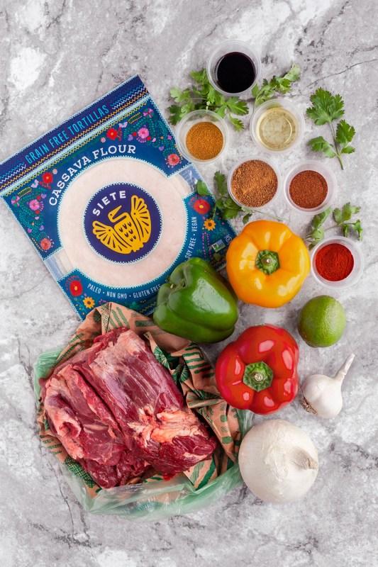 Steak Fajita Meal Prep