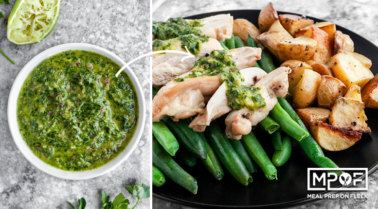 Sheet Pan Chimichurri Chicken and Veggies