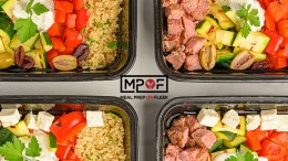 Mediterranean Style Meal Prep Bowls
