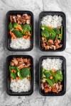 Teriyaki Chicken and Vegetables