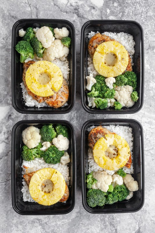 Sheet pan Pineapple Chicken