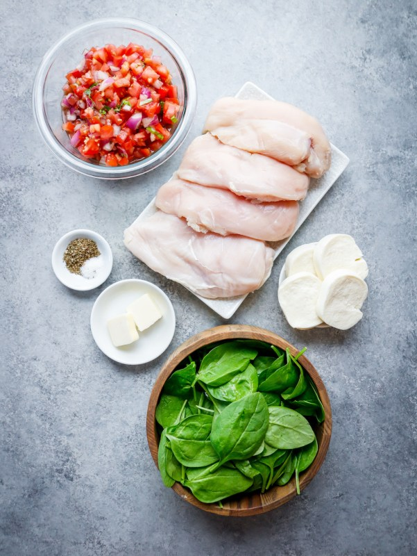 Sheet Pan Bruschetta Chicken