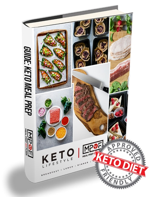 keto meal prep book
