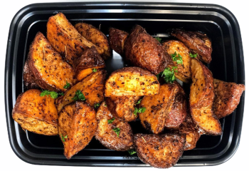 Meal Prep Garlic & Herb Roasted Potatoes