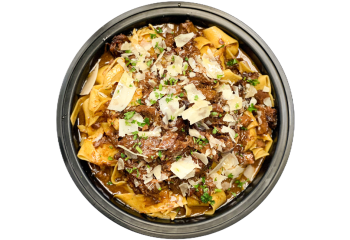 Cabernet & Truffle Short Rib Ragout Over Pappardelle