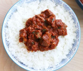 west african beef and tomato stew