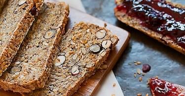 أفضل وصفة للخبز خالية من الغلوتين