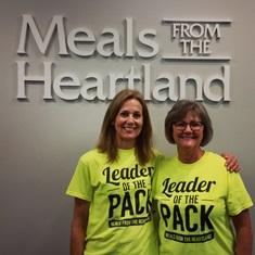 leader of the pack, packaging event leader, leadership volunteer roles