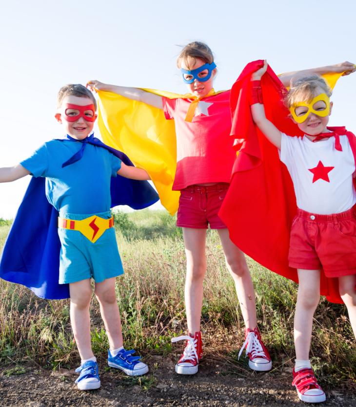 spring break superhero day