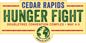 Cedar Rapids Hunger Fight Logo
