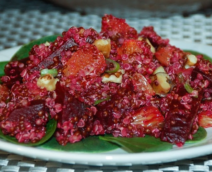 Beet, Orange & Quinoa Salad