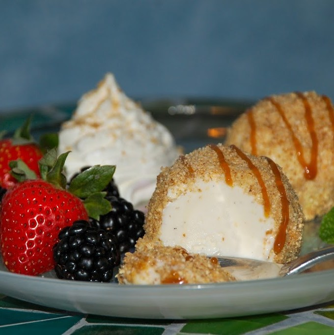 """Un-Fried"" Ice Cream"