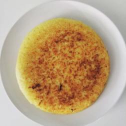 Crispy, golden rice.