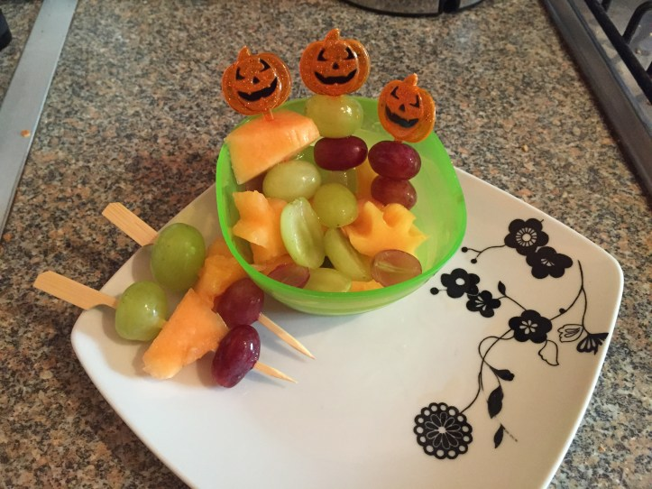 halloween watermelon party food snacks and ideas for kids parties. Take a look for more fun food ideas for kids!