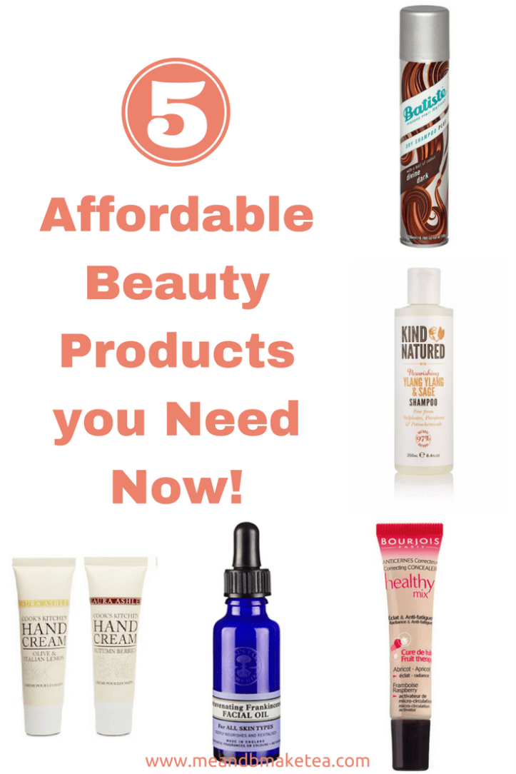 5 Affordable Beauty Products you Need Now!