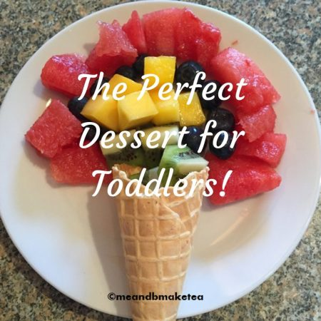 The Perfect Dessert for Toddlers healthy food ideas 5 a day