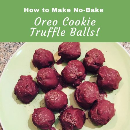 no bake orea cookies truffles using cream cheese easy recipe