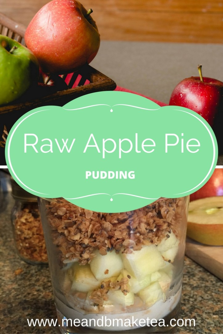 Raw apple pie chia granola recipe clean eating healthy eating five a day