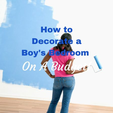 How to Decorate Your Toddler Boy's Bedroom on a Budget!