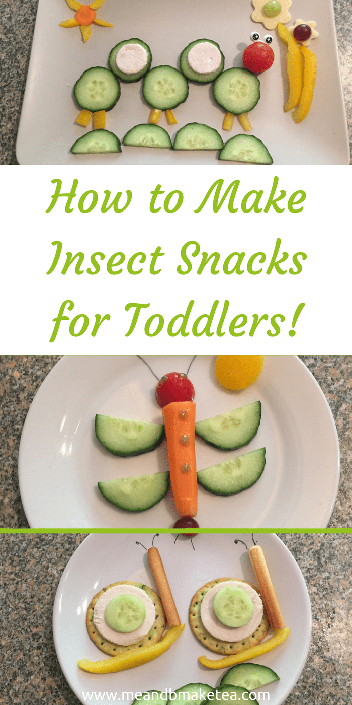 National Insect Week day fun food for picky eaters