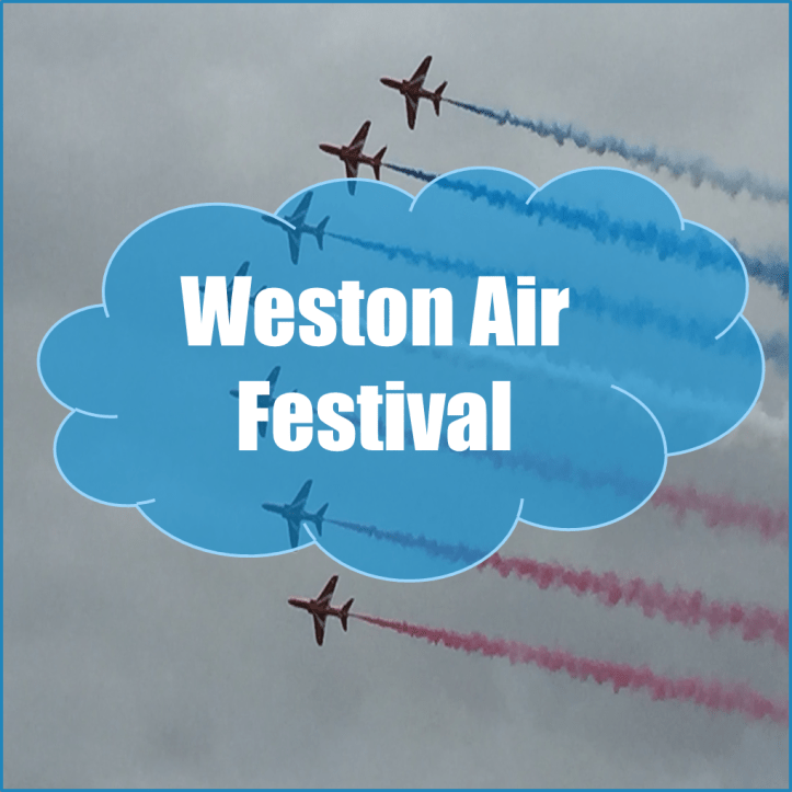 weston super mare air festival blog post write up