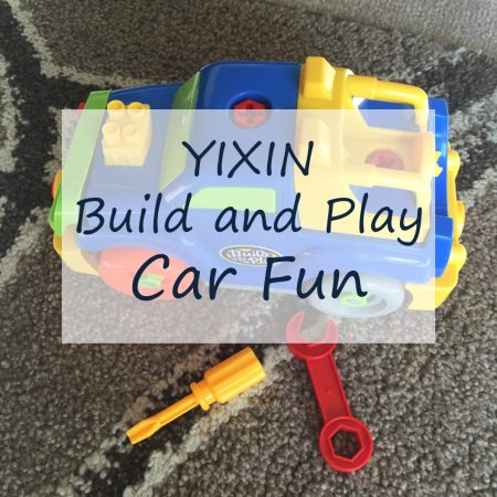 Yixin build and play car for toddlers review