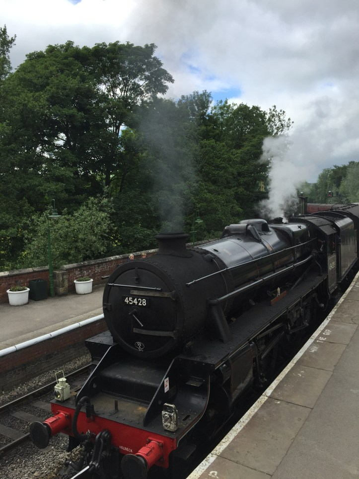 north yorkshire moors railway pickering toddler children trains mummy blogger