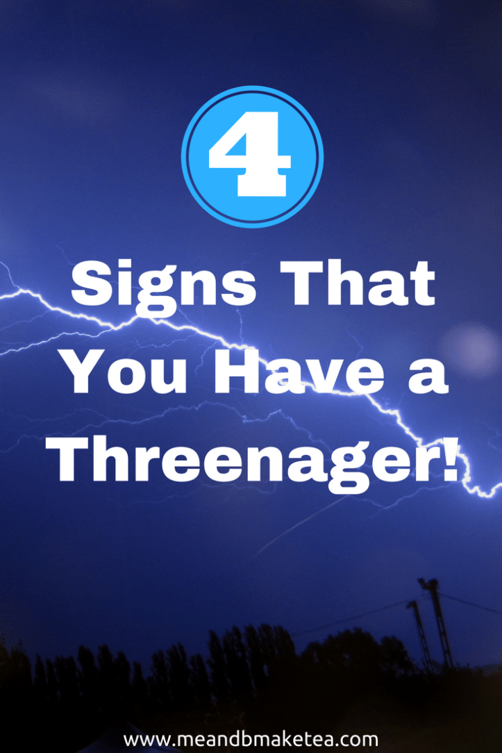Four sure fire signs that you have a Threenager dealing with toddler tantrums