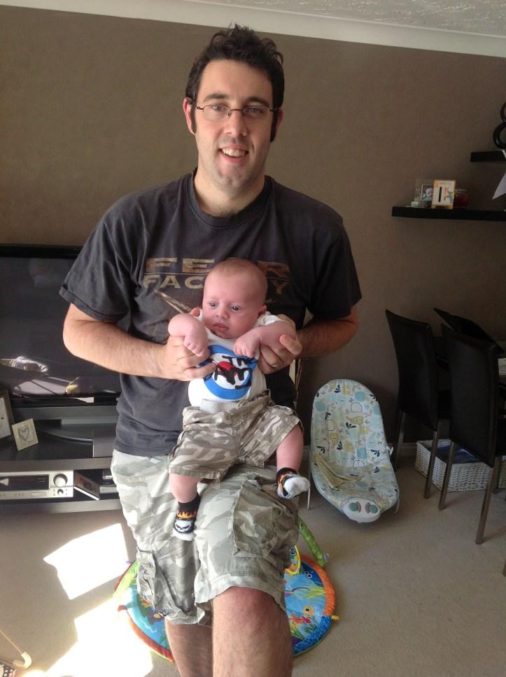 The Daddy Tag Challenge #TheDaddyTag mum blogger weston super mare the best dad