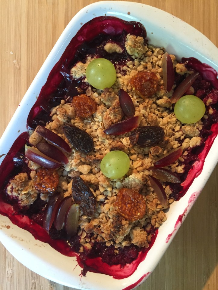how to make a gruffalo crumble what to do with blackberries