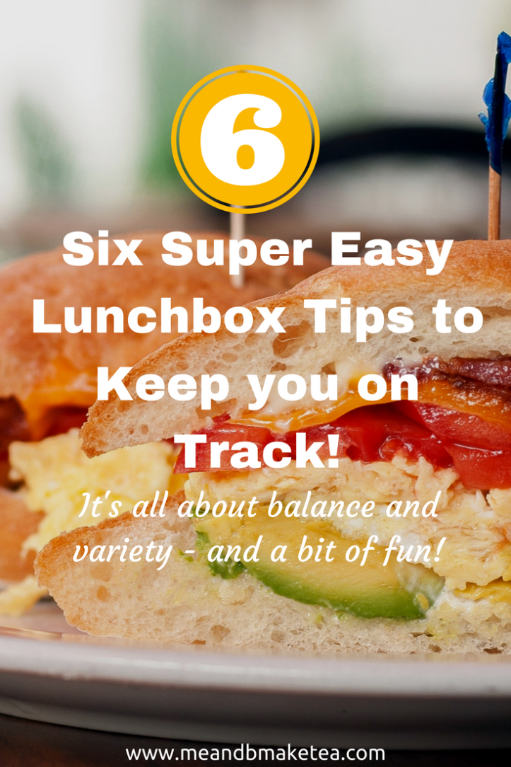 Six Easy Lunchbox Tips to Keep you on Track sandwiches and salad ideas for kids