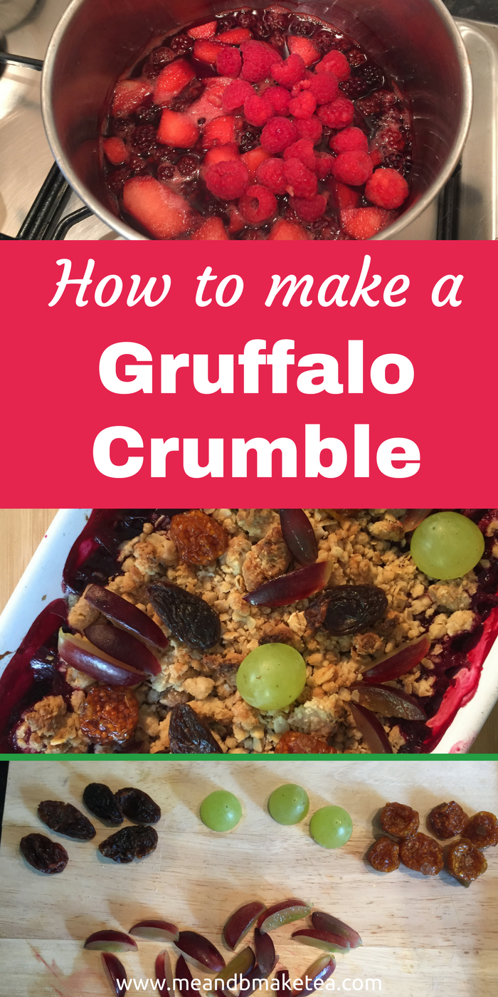 how to make a gruffalo crumble fun food for parties