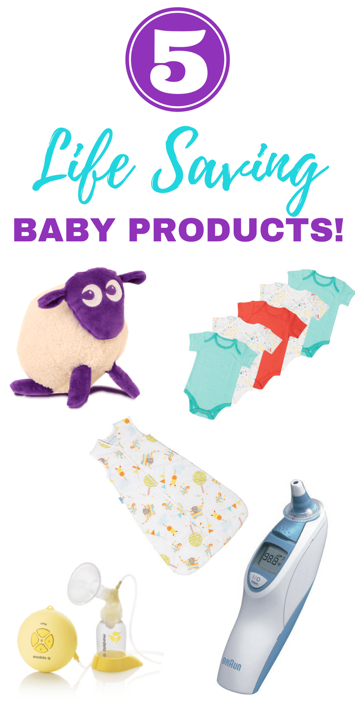 5 life saving baby products