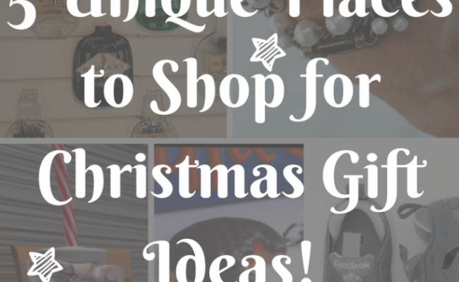 5 Unique Places To Shop For Christmas Gift Ideas Me And