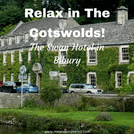 relax in the cotswolds at the swan in at Bibury