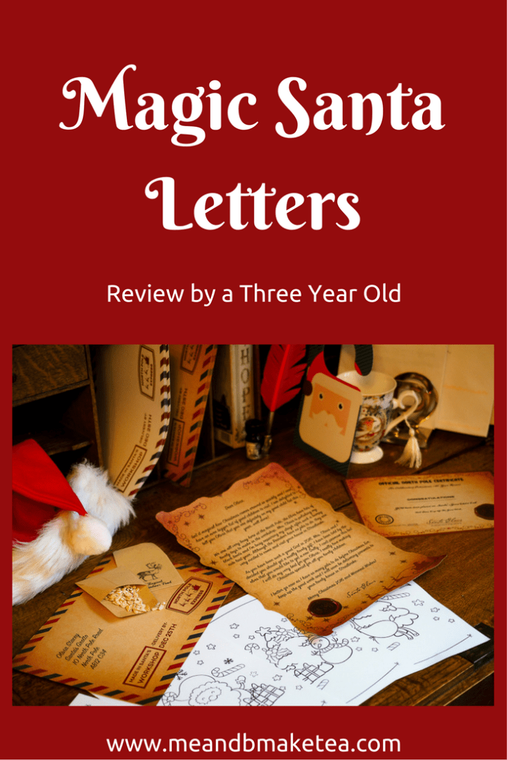 magic santa letter review father crhistmas north pole winter best letters post