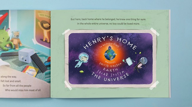 The Incredible Intergalactic Journey Home lost my name book giveaway review