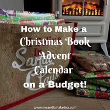 How to Make a Christmas Book Advent Calendar on a Budget childrens book a day 24