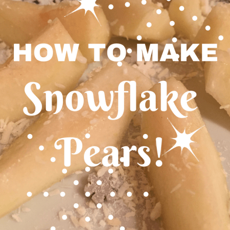 making fruit fun for kids toddler babies weaning children christmas pears snowflake fun ideas