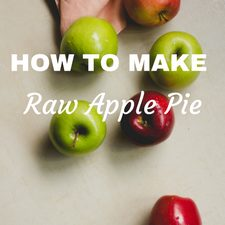 how to make raw apple pie pudding breakfast idea granola yogurt recipe review