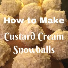 custard cream filling snowball biscuits cookies for christmas how to make bake cook kids family
