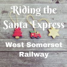 west somerset railway santa express for kids familiy day out review price tickets cost timetable events prices map
