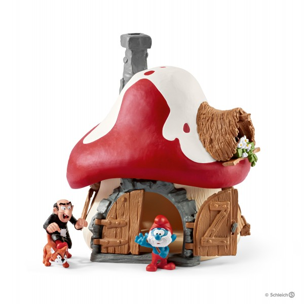 schelich smurf house lost village review toys for toddlers