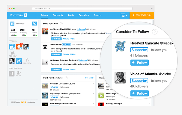 twitter tools review and use buffer hootsuite crowdfire tweetdeck analytics